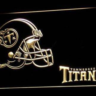 Tennessee Titans Helmet neon sign LED