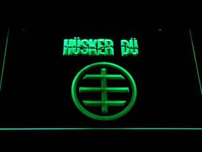 Husker Du Logo neon sign LED