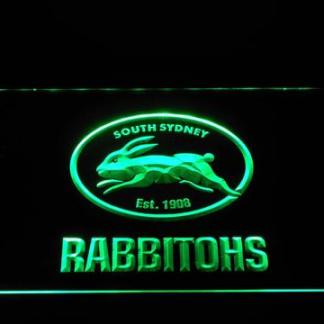 South Sydney Rabbitohs neon sign LED