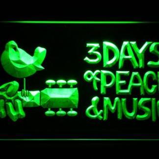 Woodstock Festival 1969 neon sign LED