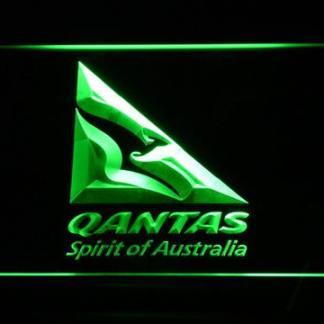 Qantas neon sign LED
