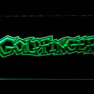Goldfinger neon sign LED