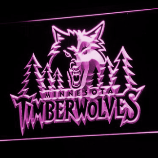 Minnesota Timberwolves - Legacy Edition neon sign LED