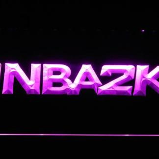NBA2K neon sign LED