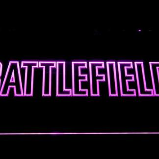 Battlefield neon sign LED