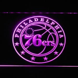 Philadelphia 76ers neon sign LED