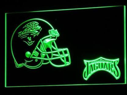Jacksonville Jaguars Helmet - Legacy Edition neon sign LED