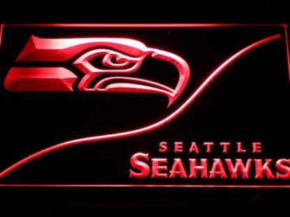 Seattle Seahawks Split neon sign LED