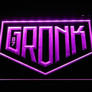 New England Patriots Gronk Logo neon sign LED