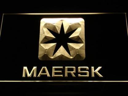 Maersk neon sign LED