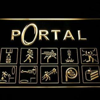 Portal neon sign LED