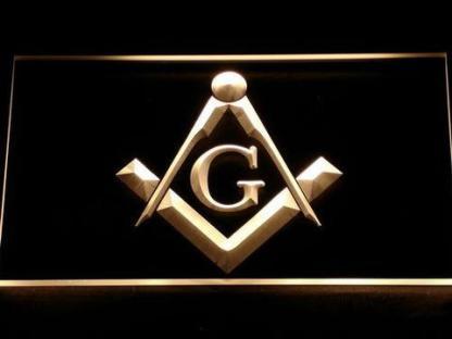 Freemasonry neon sign LED