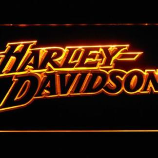 Harley Davidson Stylized Wordmark neon sign LED