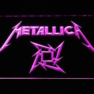 Metallica Star Logo neon sign LED