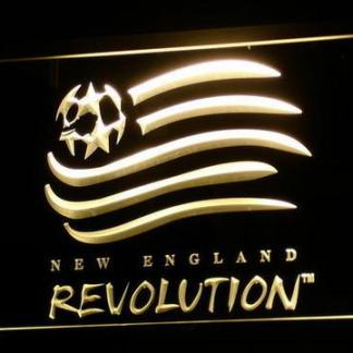New England Revolution neon sign LED