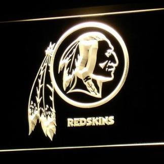 Washington Redskins Logo neon sign LED