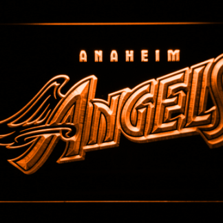 Los Angeles Angels of Anaheim 1997-2001 Logo - Legacy Edition neon sign LED