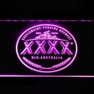 Castlemaine XXXX Logo neon sign LED
