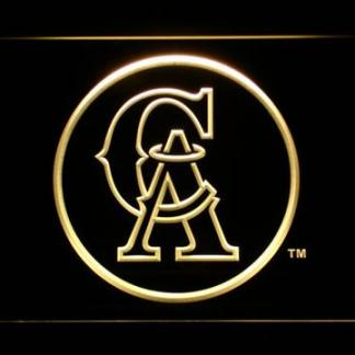 Los Angeles Angels of Anaheim 1993-1994 Logo - Legacy Edition neon sign LED