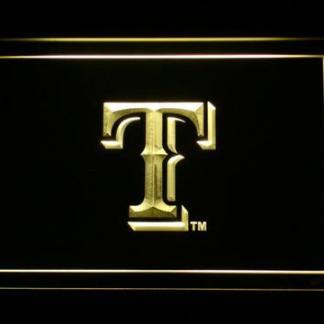 Texas Rangers T neon sign LED