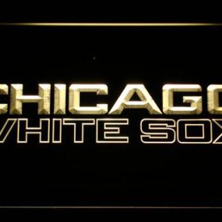Chicago White Sox 3 neon sign LED