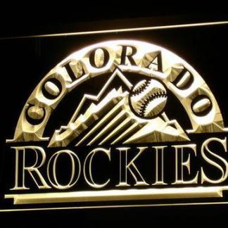 Colorado Rockies neon sign LED