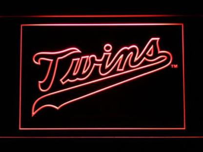 Minnesota Twins 8 - LED Legacy Edition neon sign LED