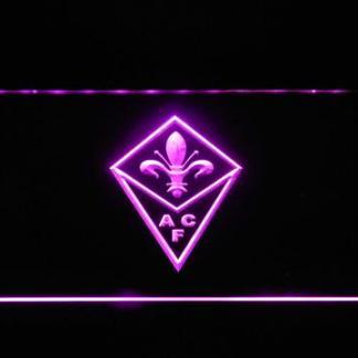 ACF Fiorentina neon sign LED