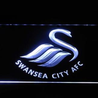 Swansea City AFC neon sign LED