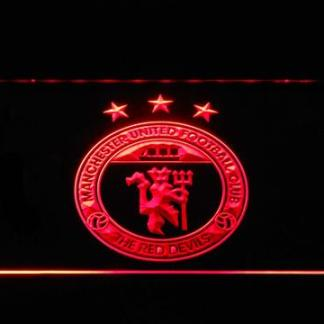 Manchester United Football Club The Red Devils neon sign LED