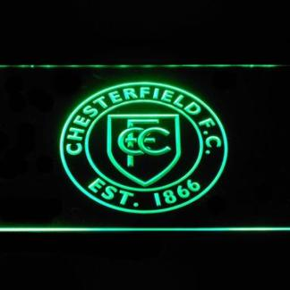 Chesterfield Football Club - Legacy Edition neon sign LED