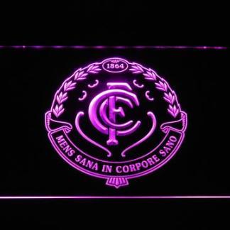 Carlton Blues neon sign LED