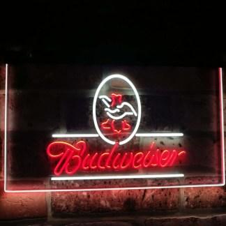 Budweiser Eagle US Beer Company Bar Decor Dual Color Led Neon Sign neon sign LED