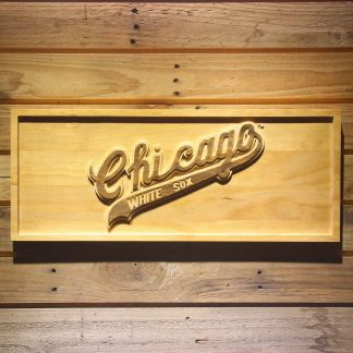 Chicago White Sox 1971-1975 Wood Sign - Legacy Edition neon sign LED