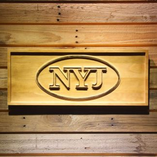 New York Jets 1998-2001 Wood Sign - Legacy Edition neon sign LED