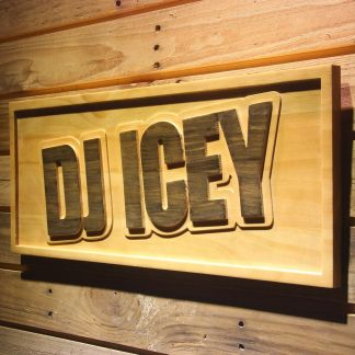 Icey Wood Sign neon sign LED