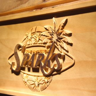 Los Angeles Sparks Wood Sign neon sign LED
