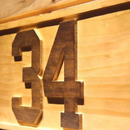 Minnesota Twins Kirby Pucket Memorial Wood Sign - Legacy Edition neon sign LED