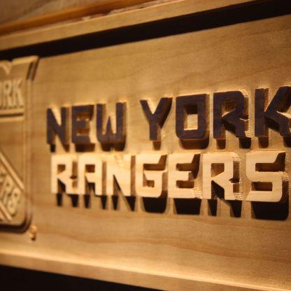 New York Rangers Wood Sign neon sign LED