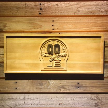 Philadelphia Eagles Jerome Brown Memorial Old Wood Sign - Legacy Edition neon sign LED