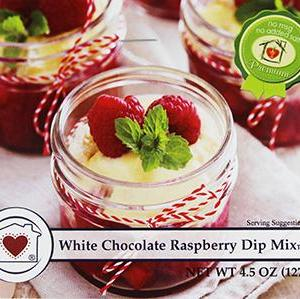 White Chocolate Raspberry Dip Mix