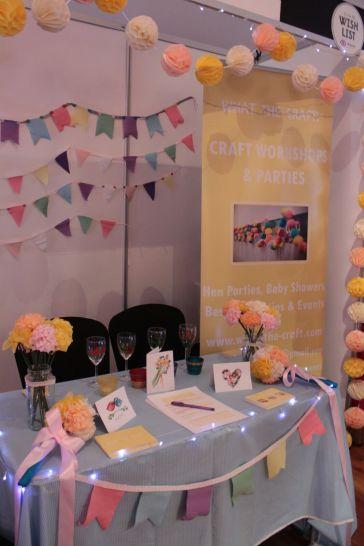 Edinburgh wedding fair. Craft Parties. Hen Parties