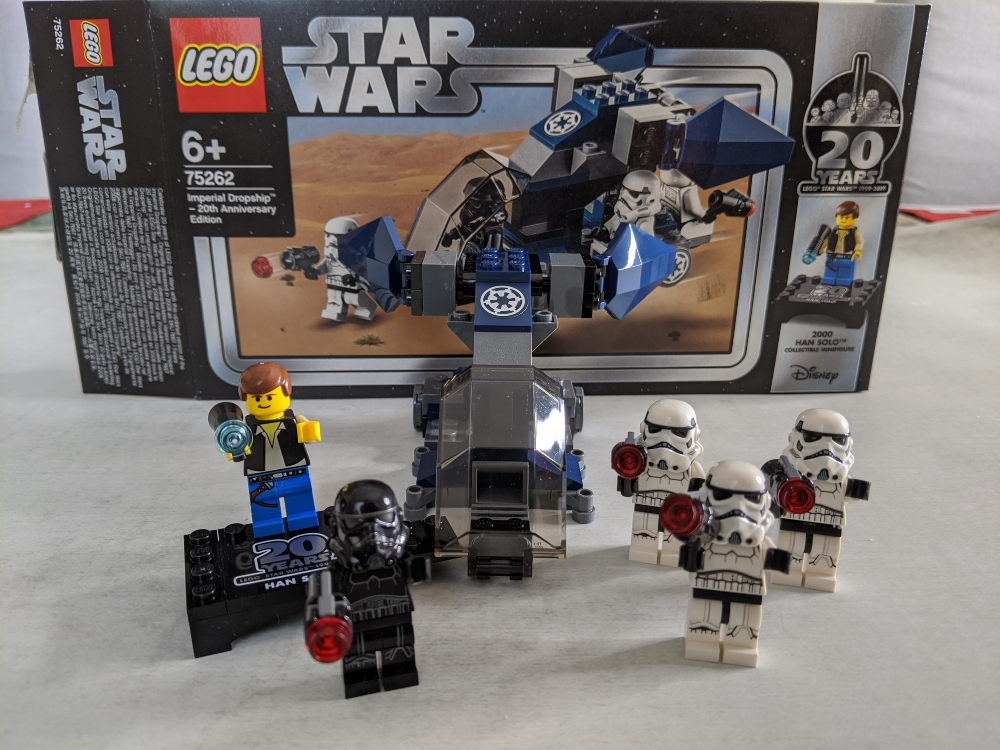 20th Anniversary Edition Lego 75262 Imperial Dropship
