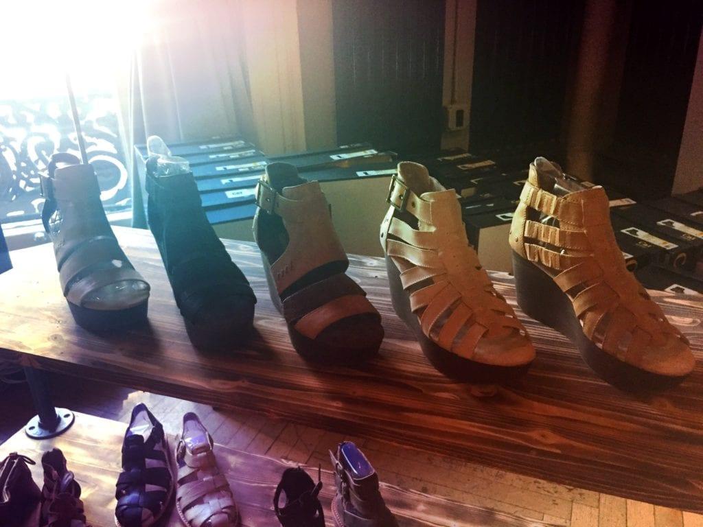 cat footwear, sandal wedges, doost, wtd