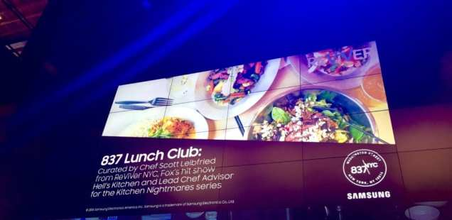 The Ultimate Lunch Club Experience at 837 NYC by Samsung