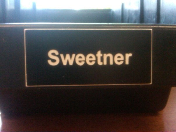 Sweetner is spelled wrong