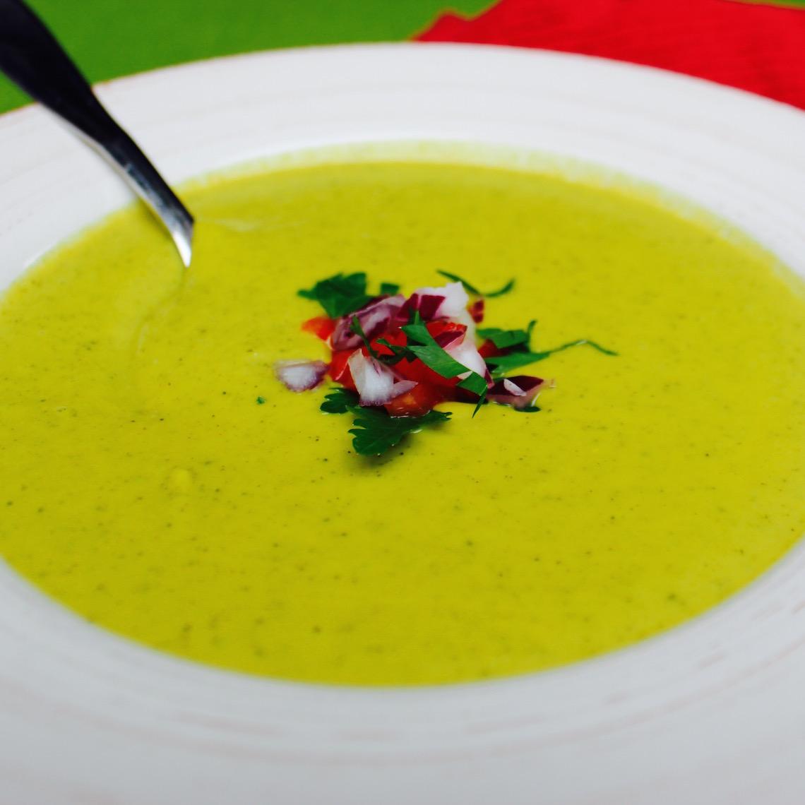 Cheezy Broccoli Soup