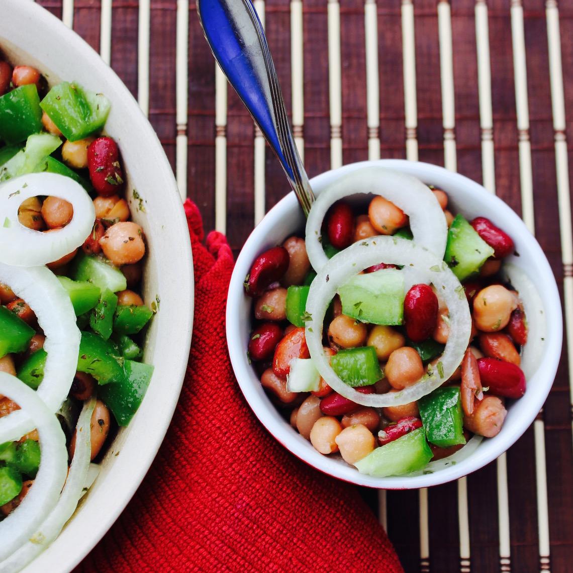 A Whole Lotta Bean Salad