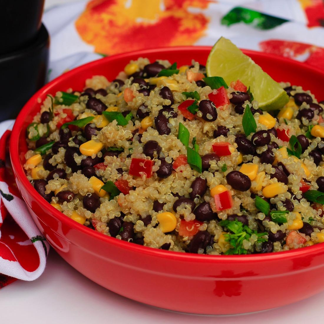 Black Bean and Quinoa Salad*
