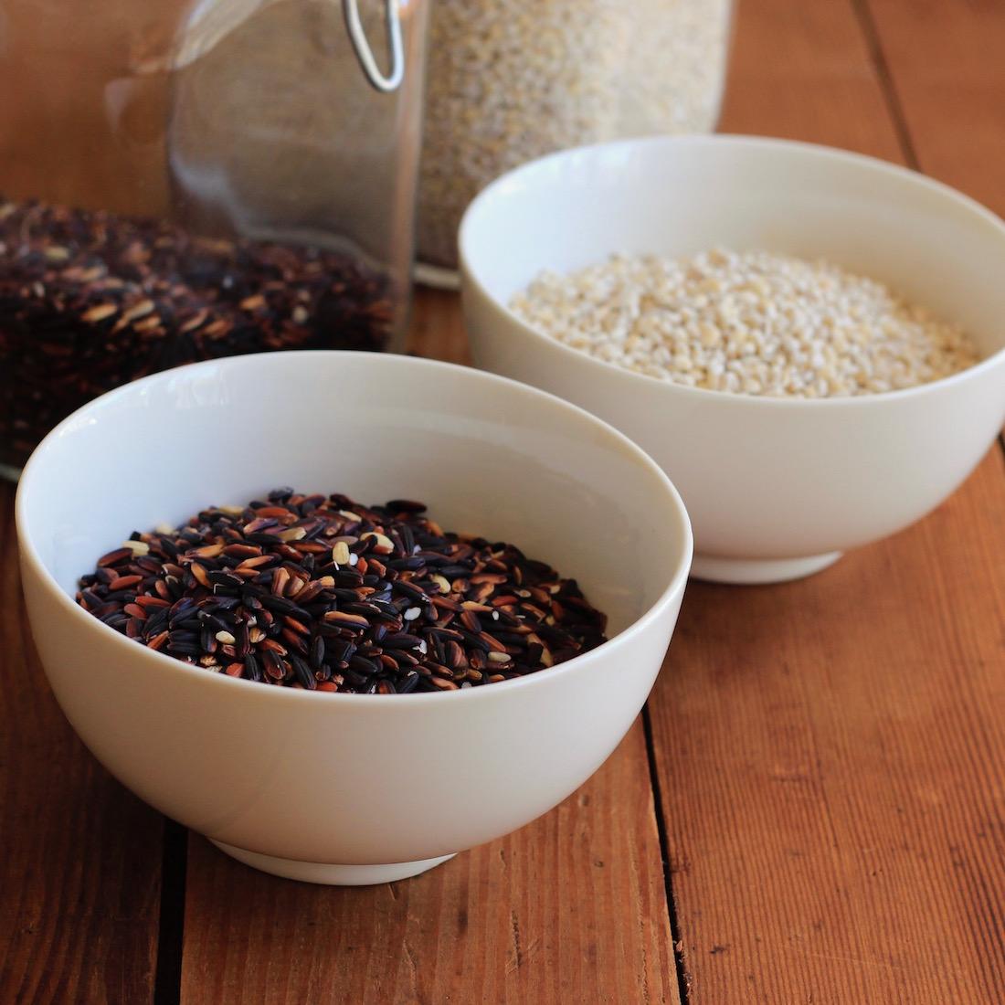 Sesame Ginger Barley and Wild Rice Salad